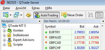 MetaTrader 5 QTrade